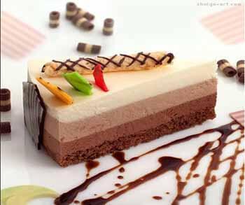 торт три шоколада с агар агар