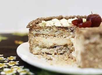 Киевский торт со сгущенкой