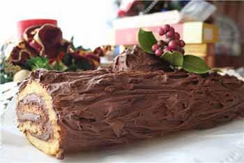 Торт полено от бабушки Эммы