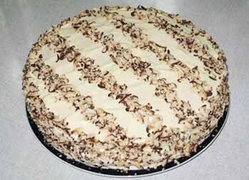 зебра торт со сгущенкой