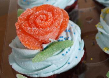 роза из мармелада