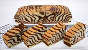 торт зебра с майонезом