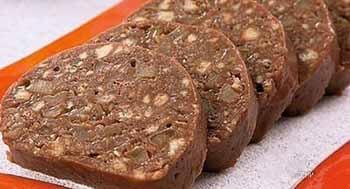 торт полено из печенье