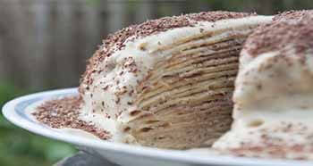 торт тирамису из блины
