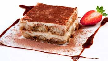 торт тирамису с пропиткой из бренди