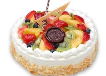 фруктовый торт в домашних условиях