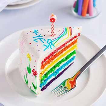 Радуга торт в домашних условиях