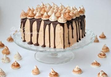 безе украшение для торта