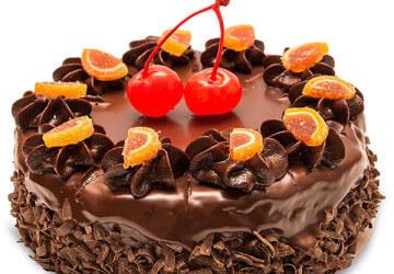 мармеладное украшение торта