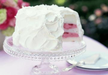 украшение торта белковым кремом