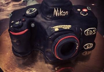 фотоаппарат НИКОН nikon в виде торта