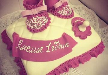 запись айсингом на торте