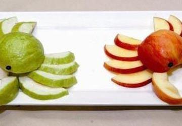краб из фруктов