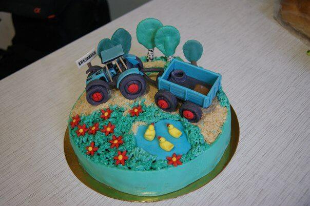 Торт ребенку 4 года украсить