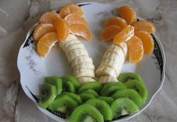 пальмы из банана