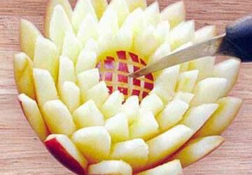 солнце из яблока