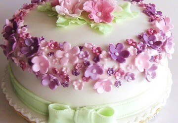 торт на день рождение женщине