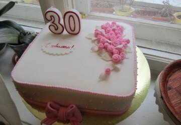 торт на день рождение женщине1