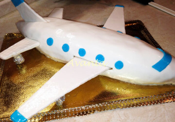 торт самолет идеи4