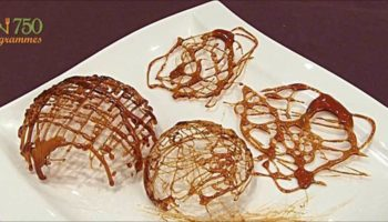 украшение тортов карамелью7