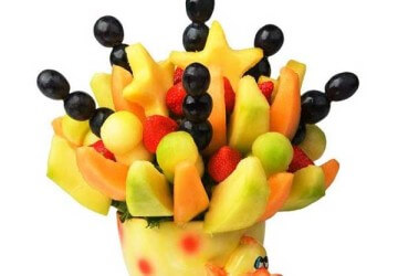 утка из фруктов