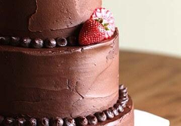 шоколадное декорирование торта
