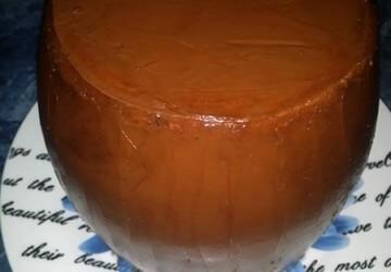 12 выравниваем шоколадно-маслянным кремом