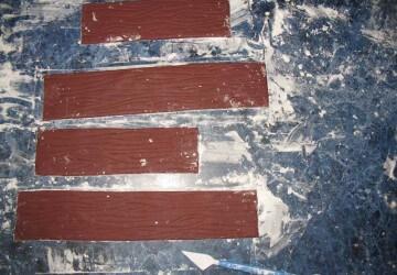 14 делаем бока для прямоугольного торта