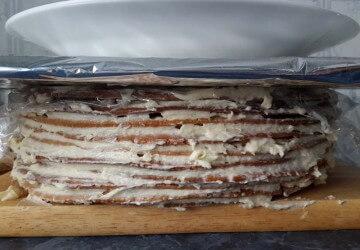 5 основа торта медовый торт