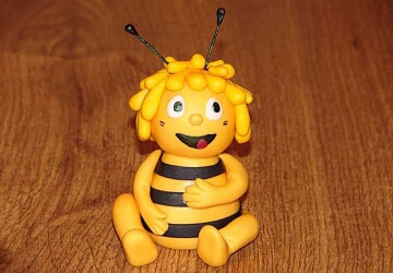 пчела из мастики