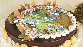 украшение торта из вафельной бумаги
