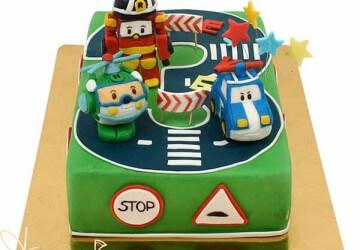цифра 3 детский торт