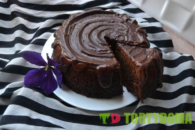 Шоколадный торт на 1-2-3