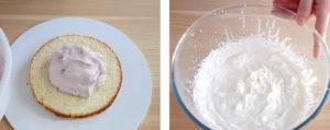 Крем-мусс слики и йогурт