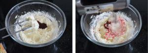 Процесс приготовления клубничного крема