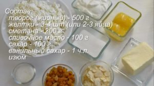 Рецепт царской пасхи