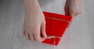 Красная пасочница для творожной пасхи