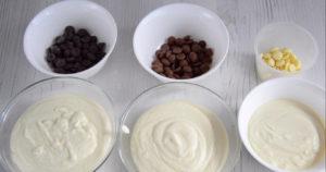 Подготовленные ингредиенты для творожной пасхи